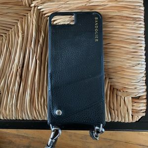 Bandolier phone case with strap for iPhone 7 Plus